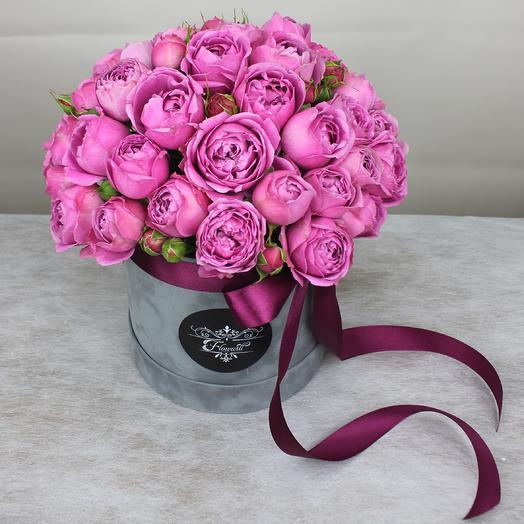 РОЗОВЫЙ РУБИН: букеты цветов на заказ Flowwow