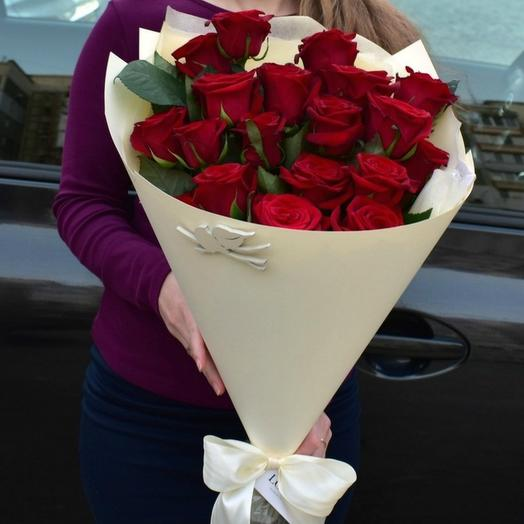 Красные розы 38: букеты цветов на заказ Flowwow