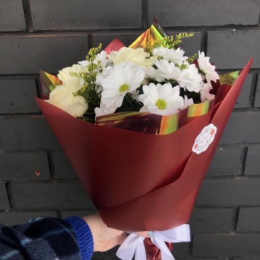 Чистое сердце: букеты цветов на заказ Flowwow