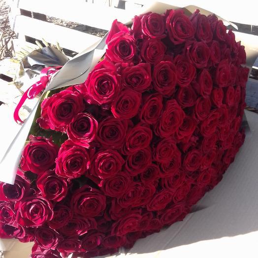 Букет из роз ( можно в любой упаковке)