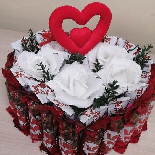 Сердце мое: букеты цветов на заказ Flowwow