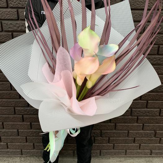 Волшебные Каллы: букеты цветов на заказ Flowwow