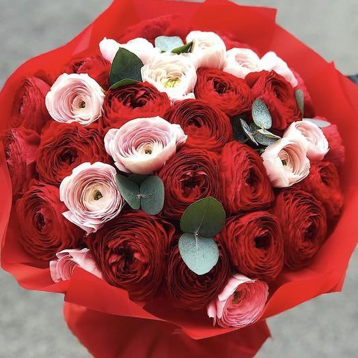 """Букет цветов """"теплая встреча"""""""