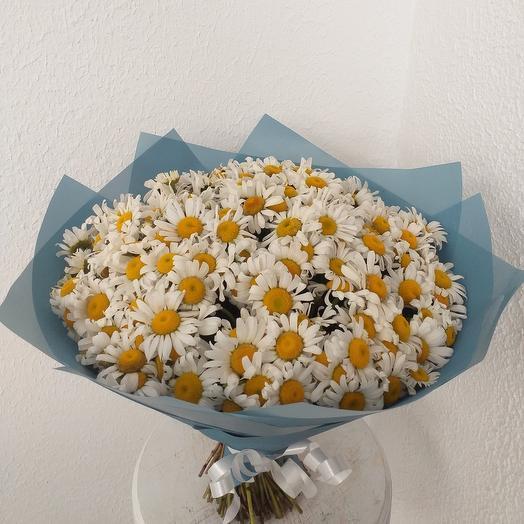 В. Ромашковое поле: букеты цветов на заказ Flowwow