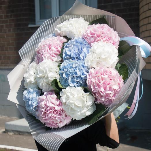Букет цветов «Райский  всплеск»