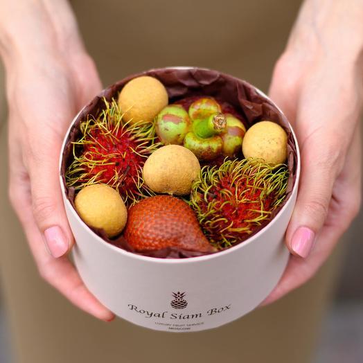 Шляпная коробка с фруктами Royal MiMi