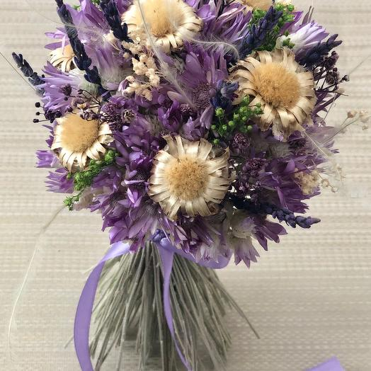 Сухоцветы с лавандой