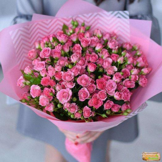 ✅ Букет Лиана ХИТ 💐 кустовая роза 19