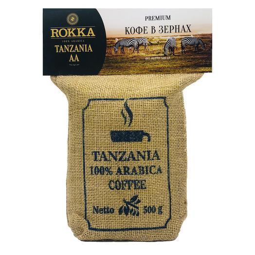 """Кофе в зернах """"Rokka"""" Танзания АА"""