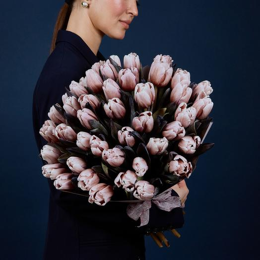 Моно-Букет Тюльпаны