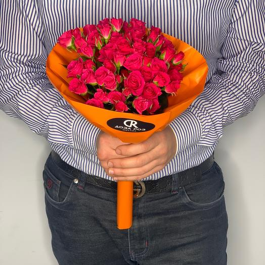Букет из кустовых роз  18