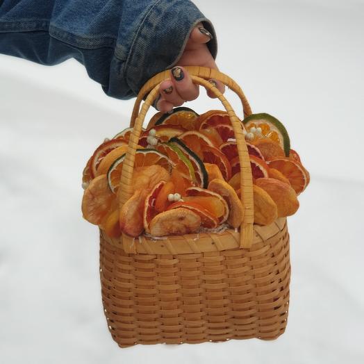 Сухофруктовое лукошко