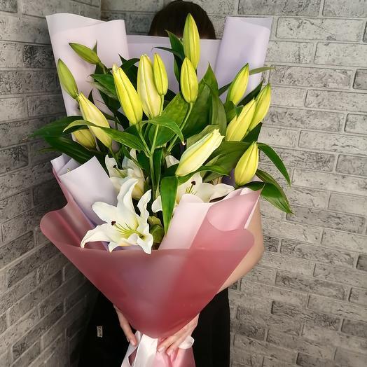 7 прекрасных лилий