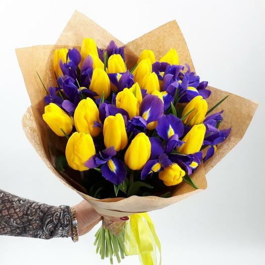 """Букет """" Красочная весна"""""""