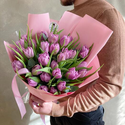 "Пионовидные тюльпаны ""Дабл Прайс"""
