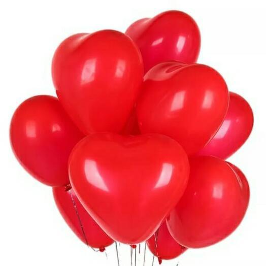 10шариков сердца