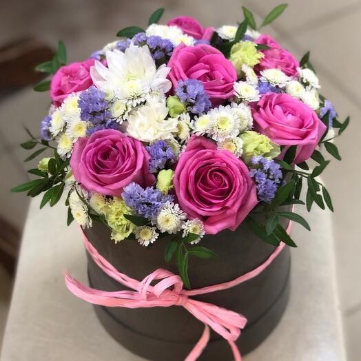 Цветы в коробке s