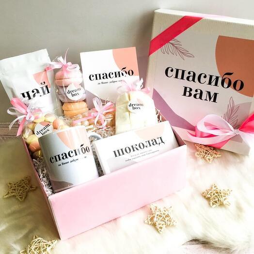"Подарочный набор DREAMBOX женский ""СПАСИБО ВАМ"""