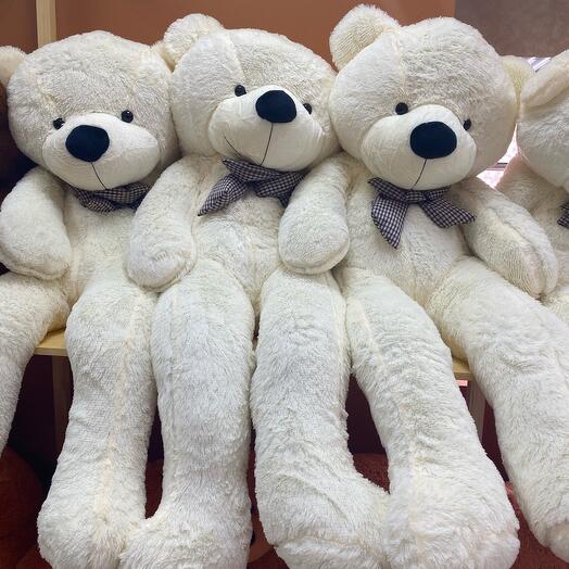 Игрушка Белый Медведь 160 см