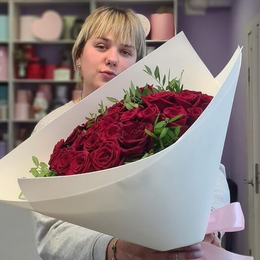 29 премиум роз