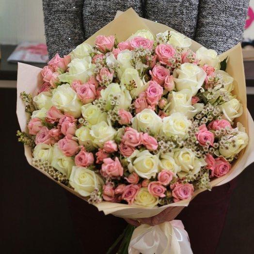 Коктейль: букеты цветов на заказ Flowwow