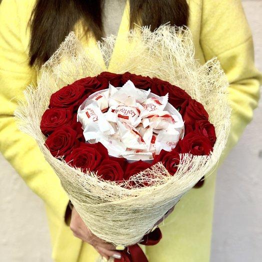Rеd Raffaello: букеты цветов на заказ Flowwow