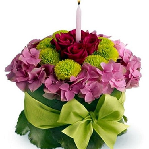 Свеча: букеты цветов на заказ Flowwow