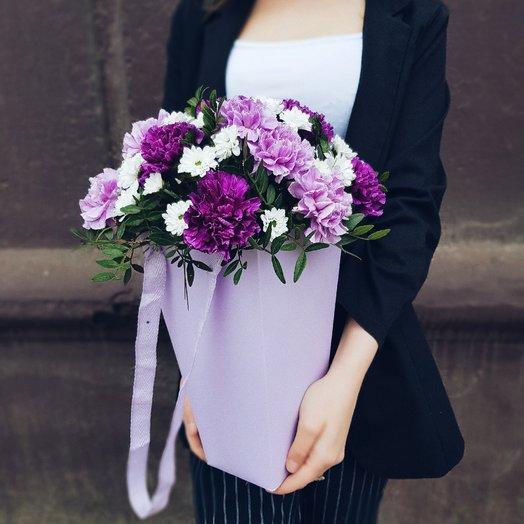 Сиреневое настроение : букеты цветов на заказ Flowwow