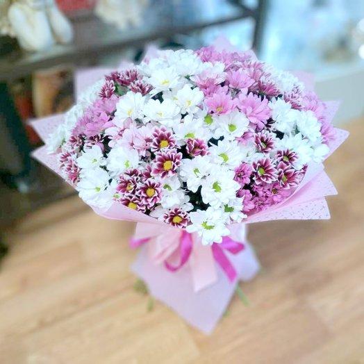 Букет из 31 хризантемы ромашки.: букеты цветов на заказ Flowwow