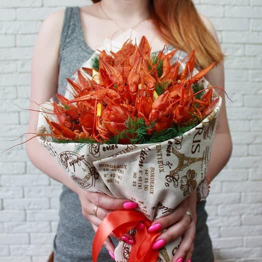 Букет из раков: букеты цветов на заказ Flowwow