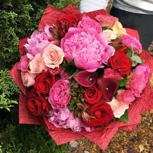Авторский букет Шарлиз: букеты цветов на заказ Flowwow