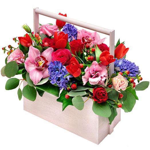 Лукошко: букеты цветов на заказ Flowwow