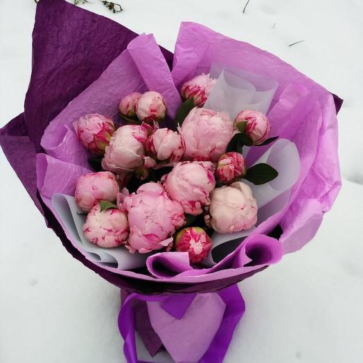 Розовое настроение: букеты цветов на заказ Flowwow