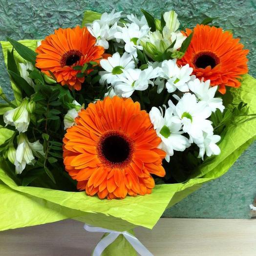 Солнечный букетик: букеты цветов на заказ Flowwow