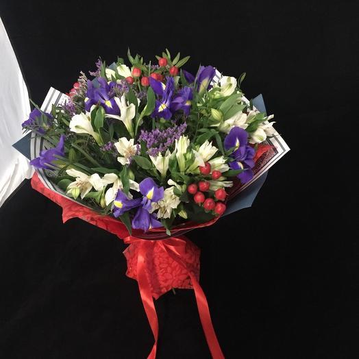Игристый: букеты цветов на заказ Flowwow