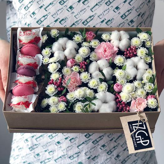 Box 10 Средний 1: букеты цветов на заказ Flowwow
