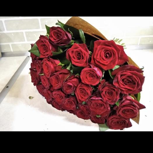 31 красная роза букет: букеты цветов на заказ Flowwow