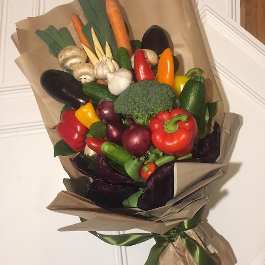 Овощной букет «крутой перец», подарок мужчине