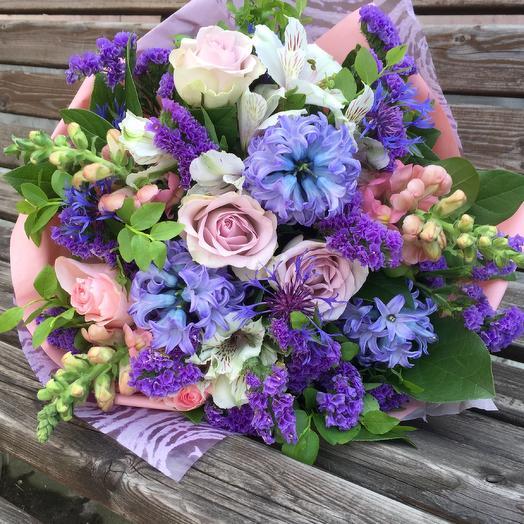 Сиренево-лиловый: букеты цветов на заказ Flowwow