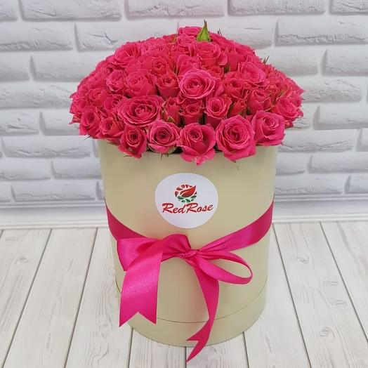 Малиновое настроение: букеты цветов на заказ Flowwow