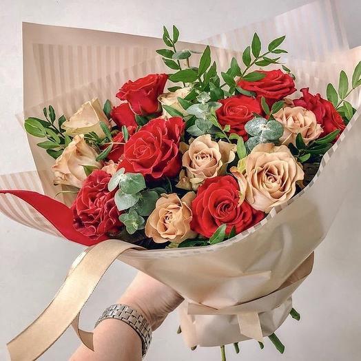 Букет « Волшебство»: букеты цветов на заказ Flowwow