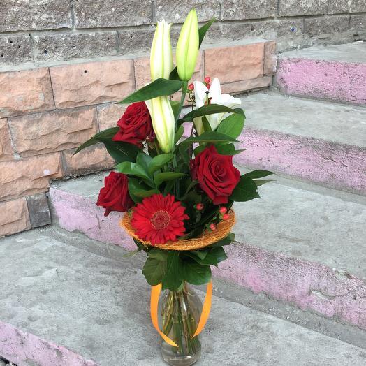 Букет строгий: букеты цветов на заказ Flowwow