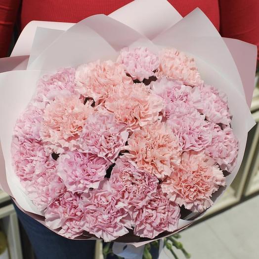 Нежный Диантусовый микс: букеты цветов на заказ Flowwow