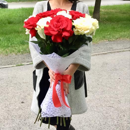 Японская роза: букеты цветов на заказ Flowwow