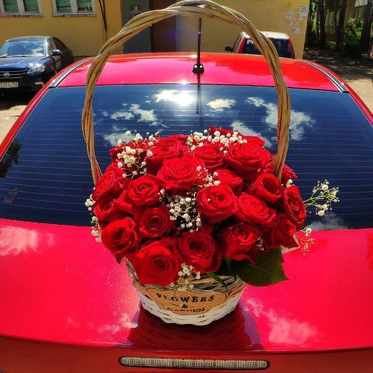 Корзина Любви: букеты цветов на заказ Flowwow