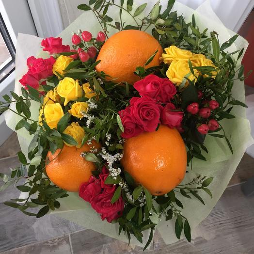 Розы и апельсины