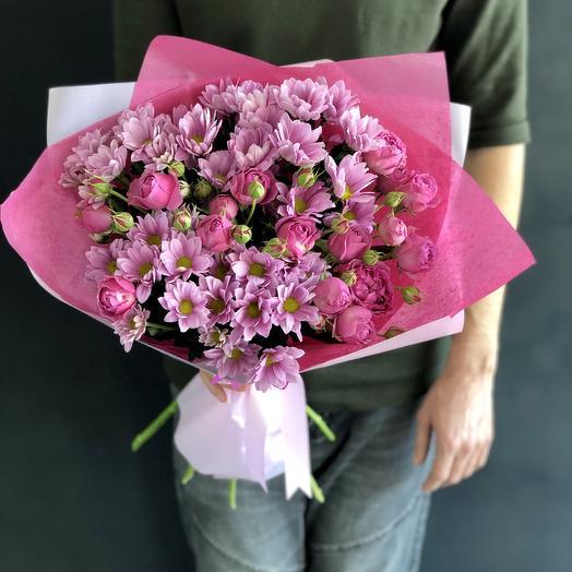 Дарите нежность: букеты цветов на заказ Flowwow