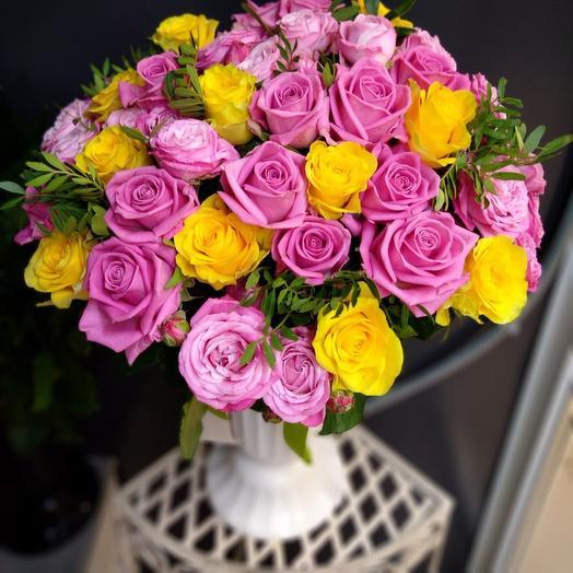 Букет Палитра: букеты цветов на заказ Flowwow