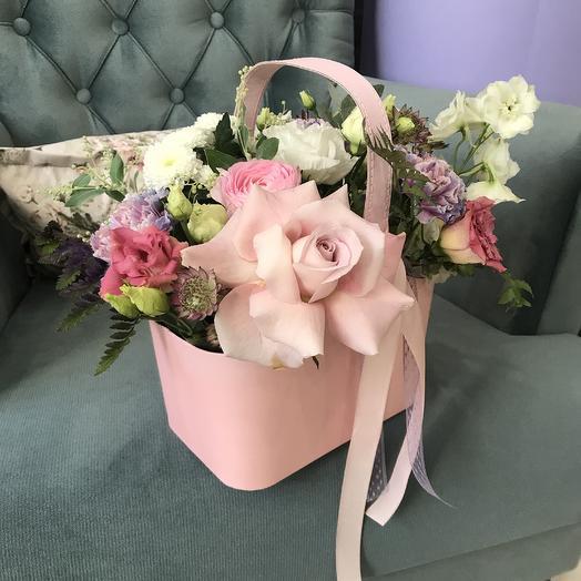 Лукошко для Мамы: букеты цветов на заказ Flowwow