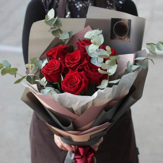 Красные розы 5